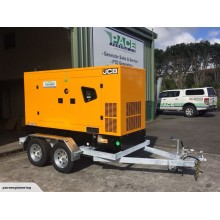 JCB Power Products 90kVA Generator & Tandem Trailer Package