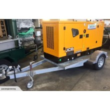 JCB Power Products 45kVA Generator & Trailer Package