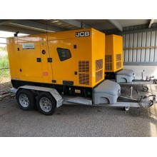 Ex Rental JCB G90QS Trailer Mounted Generator