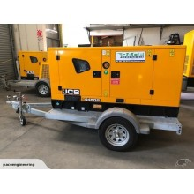 Ex Demo JCB G45QS 45kVA Towable Generator